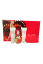 Can Can by Paris Hilton for Women - 4 Pc Gift Set 3.4oz EDP Spray, 3oz Body Lotion, 3oz Bath & Shower Gel, Coin Purse