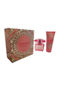 Bright Crystal Absolu by Versace for Women - 2 Pc Gift Set 3oz EDP Spray, 3.4oz Body Lotion