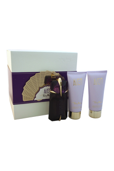 Alien by Thierry Mugler for Women - 3 Pc Gift Set 2oz EDP Spray, 3.3oz Radiant Shower Gel, 3.3oz Radiant Body Lotion