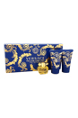 Versace Yellow Diamond Intense by Versace for Women - 3 Pc Mini Gift Set 0.17oz Versace Yellow Diamond Intense EDP Splash, 0.8oz Perfumed Shower Gel, 0.8oz Perfumed Body Lotion