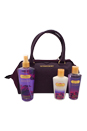 Love Spell by Victoria's Secret for Women - 4 Pc Gift Set 8.4oz Love Spell Fragrance Mist, 4.2oz Love Spell Hydrating Body Lotion, 4.2oz Love Spell Body Wash, Bag