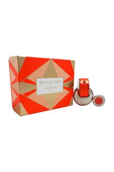 Bvlgari Omnia Coral women 2.2oz EDT Spray Gift Set