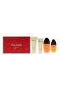 Obsession by Calvin Klein for Women - 4 Pc Gift Set 3.4oz EDP Spray, 0.5oz EDP Spray, 3.4oz Shower Gel, 6.7oz Body Lotion