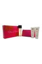 Oscar by Oscar De La Renta for Women - 4 Pc Gift Set 3.4oz EDT Spray, 3.4oz Body Lotion, 3.4oz Body Bath, Cosmetic Pouch