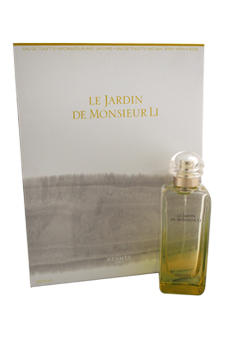 Le Jardin De Monsieur Li by Hermes for Women - 2 Pc Gift Set 3.3oz EDT Spray, A Book