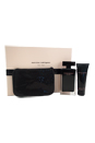 Narciso Rodriguez by Narciso Rodriguez for Women - 3 Pc Gift Set 3.3oz EDT Spray, 2.6oz Body Cream, Pouch