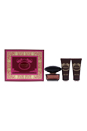 Versace Crystal Noir by Versace for Women - 3 Pc Gift Set 1.7oz EDT Spray, 1.7oz Body Lotion, 1.7oz Bath & Shower Gel