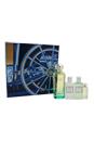 Un Jardin Sur Le Nil by Hermes for Women - 4 Pc Gift Set 3.3oz EDT Spray, 0.25oz EDT Mini Splash, 1.35oz Moisturizing Body Lotion, 1.35oz Body Shower Gel