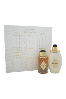 Boucheron Place Vendome women 3.3oz EDP Spray Body Lotion Gift Set
