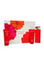 Red Door by Elizabeth Arden for Women - 3 Pc Gift Set 3.3oz EDT Spray, 3.3oz Body Lotion, 3.3oz Bath & Shower Gel
