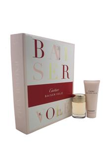 Cartier Baiser Vole women 1.6oz EDP Spray Shower Gel Gift Set