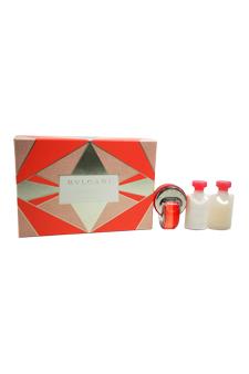 Bvlgari Omnia Coral women 1.35oz EDT Spray Body Lotion Gift Set