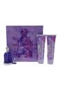 Halloween by J. Del Pozo for Women - 4 Pc Gift Set 3.4oz EDT Spray, 0.15oz EDT Splash, 5oz Body Lotion, 5oz Shower Gel