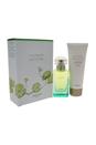 Un Jardin Sur Le Nil by Hermes for Women - 2 Pc Gift Set 1.6oz EDT Spray, 2.5oz Perfumed Body Lotion