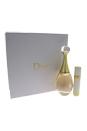 J'adore by Christian Dior for Women - 2 Pc Gift Set 3.4oz EDP Spray, 0.25 EDP Spray