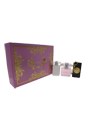 Versace Bright Crystal by Versace for Women - 3 Pc Gift Set 3oz EDT Spray, 3.4oz Perfumed Body Lotion, Versace Bag Tag