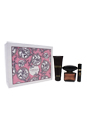 Versace Crystal Noir by Versace for Women - 3 Pc Gift Set 3.0oz EDT Spray, 3.4oz Body Lotion, 0.3oz EDT Spray