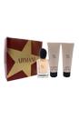 Giorgio Armani Si by Giorgio Armani for Women - 3 Pc Gift Set 1.7oz EDP Spray, 2.5oz Perfumed Shower Gel, 2.5oz Moisturizing Perfumed Body Lotion