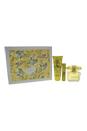 Versace Yellow Diamond by Versace for Women - 3 Pc Gift Set 3oz EDT Spray, 0.3oz EDT Spray, 3.4zoz Body Lotion
