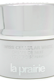 Swiss Cellular White Whitening Night Cream by La Prairie for Unisex Cream