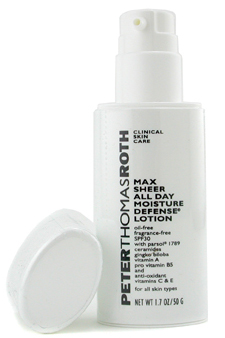 Max Sheer All Day Defense Lotion SPF30 by Peter Thomas Roth for Unisex - 1.7 oz Moisture Lotion
