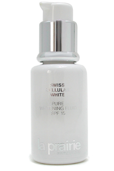 Swiss Cellular White Whitening Fluid SPF 15 by La Prairie for Unisex Whitening Fluid