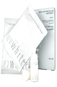 UVWhite Intensive Whitening Treatment by Shiseido for Unisex - 7 pcs Whitening Trtmt.