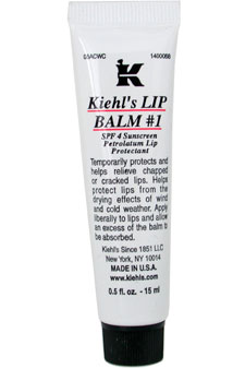Lip Balm # 1 Tube (SPF 4 Sunscreen Petrolatum Lip Protectant) by Kiehl's for Unisex Lip Balm