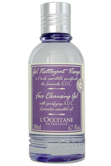 Face Cleansing Gel w/ Lavender Essential Oil by LOccitane for Unisex Cleansing Gel