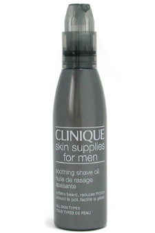 Skin Supplies For MenSoothing Shave Oil by Clinique for Unisex Shave Oil