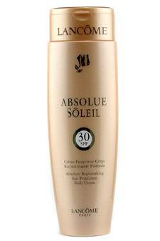 Absolute Replenishing Sun Protection Body Cream SPF 30 by Lancome for Unisex Sun Care