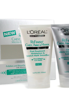 Micro-Dermabrasion Kit (Refinish Chest, Arms & Hands) by LOreal for Unisex - 2 Pc Set