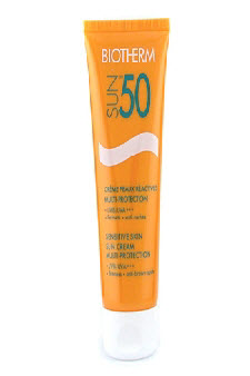 Sun Multi Protection Sensitive Skin Sun Cream SPF50 UVB/UVA+++ by Biotherm for Unisex Sun Cream