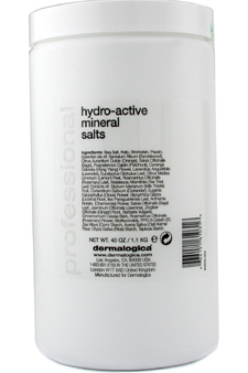 SPA Hydro-Active Mineral Salts (Salon Size) by Dermalogica for Unisex - 1.1 kg Mineral Bath Salt