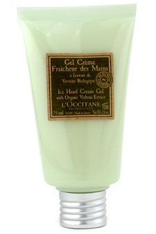 Verbena Harvest Ice Hand Cream Gel by L'Occitane for Unisex Gel