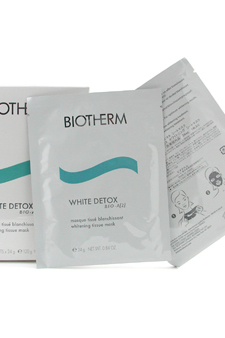 White Detox Bio-A[2] Whitening Tissue Mask by Biotherm for Unisex Whitener
