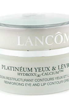 Platineum Restructuring Eye and Lip Treatment by Lancome for Unisex Eye/Lip Cream Treatment