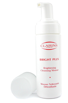 Bright Plus Brightening Cleansing Mousse by Clarins for Unisex - 5.1 oz Mousse