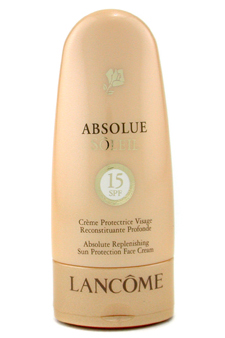 Absolue Replenishing Sun Protection Face Cream SPF15 by Lancome for Unisex Face Cream