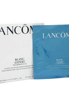 Blanc Expert NeuroWhite X3 Ultimate Whitening Radiance Reviving Petal by Lancome for Unisex - 8 Pc Cleanser