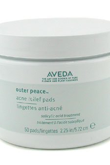 Outer Peace Acne Relief Pads by Aveda for Unisex - 50 Pads Pads