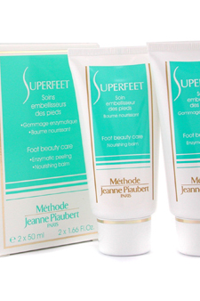 Superfeet Foot Beauty Care by Methode Jeanne Piaubert for Unisex - 2 x 50 ml Foot Care $ 46.85
