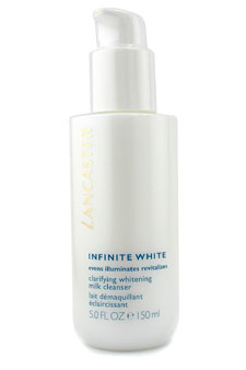Infinite White Clarifying Whitening Milk Cleanser by Lancaster for Unisex Cleanser
