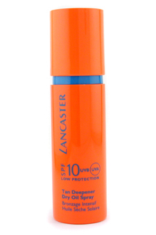 Sun Care Tan Deepener Dry Oil Spray SPF 10 by Lancaster for Unisex Sun Care