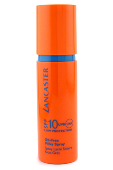 Oil-Free Milky Spray SPF 10 by Lancaster for Unisex Sun Care