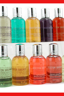 Bath & Shower Gel Set by Molton Brown for Unisex - 10 Pc Shower Gel $ 36.11