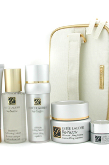 Re-Nutriv Ultimate Luxuries Set by Estee Lauder for Unisex - 6 Pc + 1 Bag Set $ 509.47