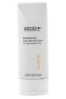 Enhancing Sun Protection SPF 30 by DDF for Unisex - 4 oz Sun Care