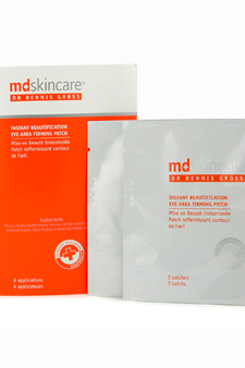 Instant Beautification Eye Area Firming Patch by MD Skincare for Unisex - 6 Pairs Eye Patch