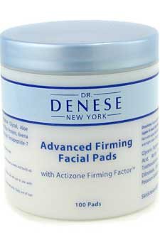 Advanced Firming Facial Pads with Actizone Firming Factor by Dr. Denese for Unisex - 100 Pads Pads